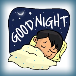 Good Night Sweet Stickers