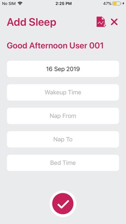 Health Diary App screenshot-3