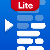 Teleprompter Lite - Speech, Script and Lyrics Mirror Prompter Pro icon