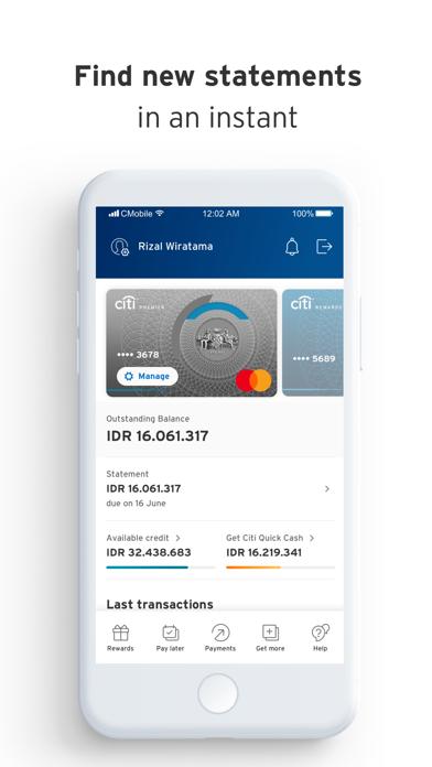 Citi Mobile IndonesiaScreenshot of 4