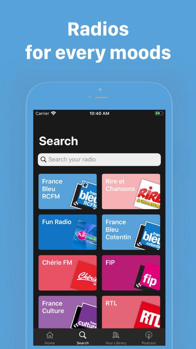 Radiofy screenshot 2