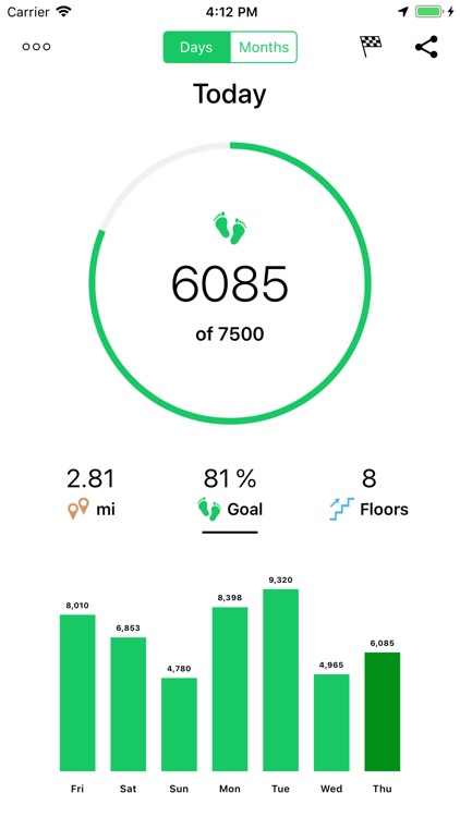 Running Walking Tracker Goals screenshot-3
