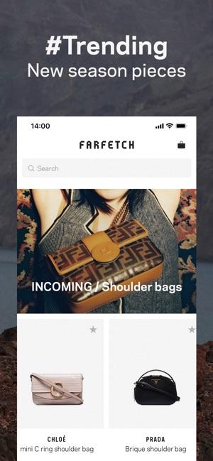 ab305b367f8b Farfetch  New Fashion Shopping on the App Store