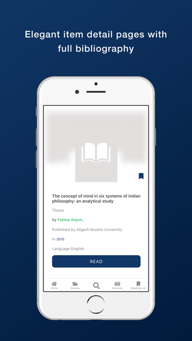 Bennett University Library screenshot 7