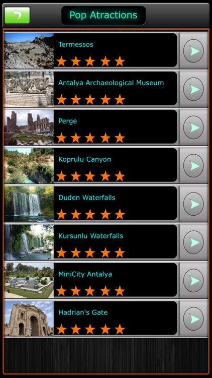 Antalya Offline Map Guide