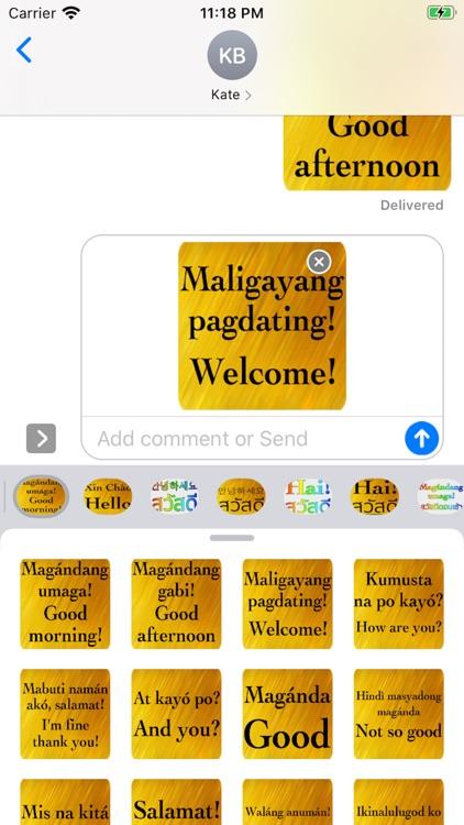 Filipino English screenshot-5