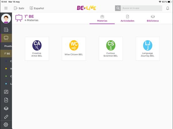 Be+Live app screenshot 3