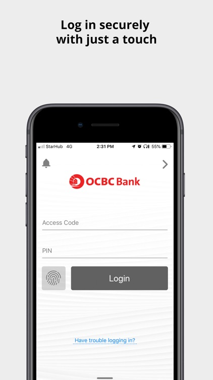 OCBC SG Mobile Banking screenshot-0