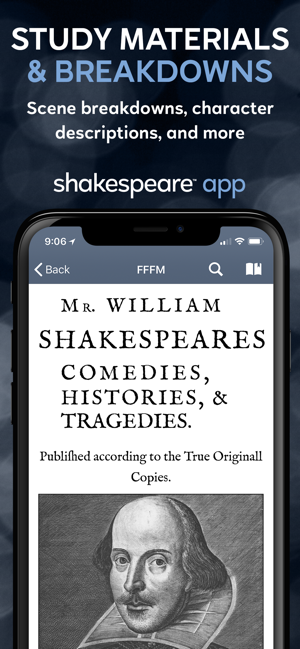 ‎Shakespeare Screenshot
