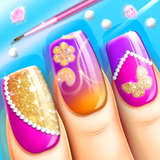 Fashion Nail Art Salon Game