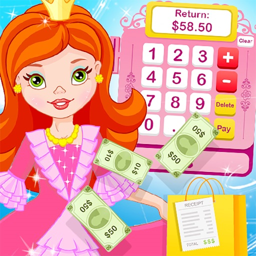 Princess Grocery Cash Register