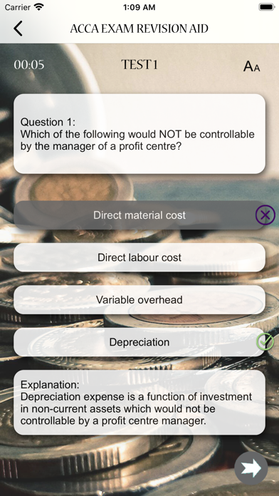 ACCA Exam Revision Aid screenshot 3
