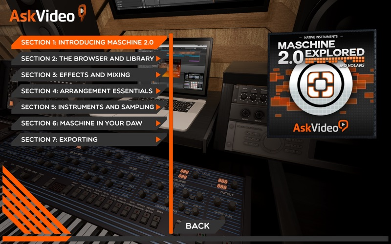 AV for Exploring Maschine 2.0 for Mac