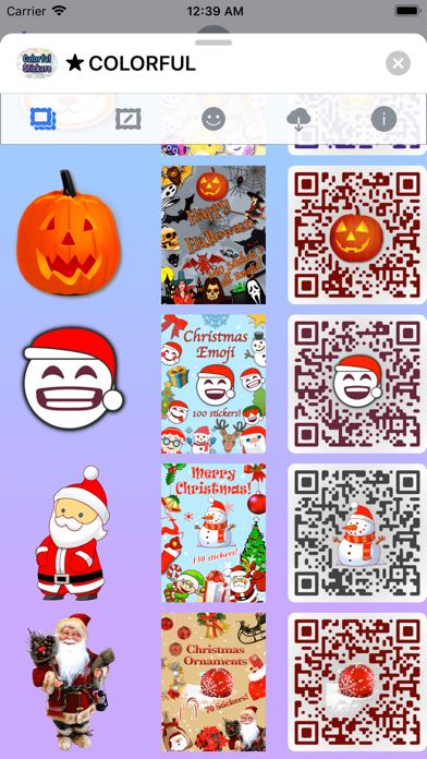 Colorful Stickers and Emoji screenshot 8