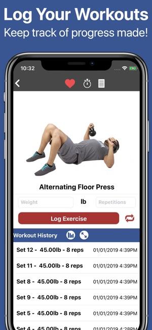 Gymster+ Gym & Healthy Eating Screenshot
