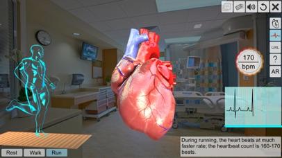 AR Human heart – A glimpse screenshot 4