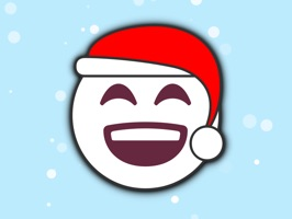 More than 100 Christmas Emoji stickers for iMessage