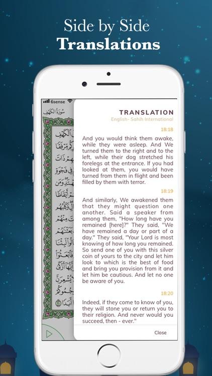 Quran Al Kareem- القرآن الكريم screenshot-3