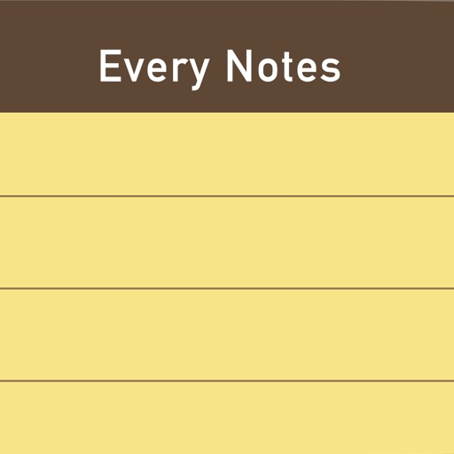 Every Notes - My Daily Memo icon