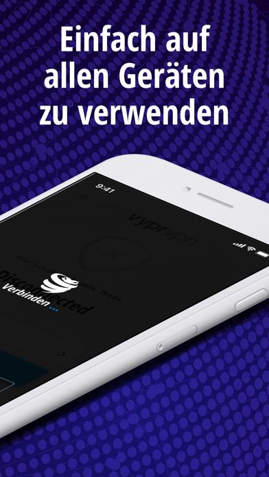 VyprVPN: VPN und DatenschutzScreenshot von 6