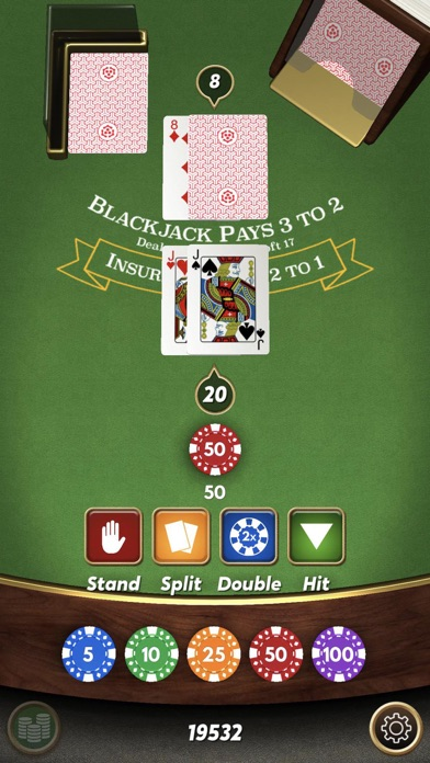 Blackjack 21 ⁂ screenshot 5