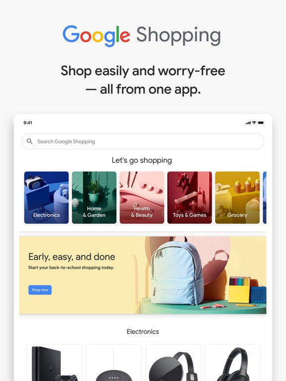 Google Shopping - Shop easier-ipad-0