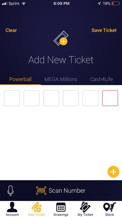LottoRiches Ticket Scanner
