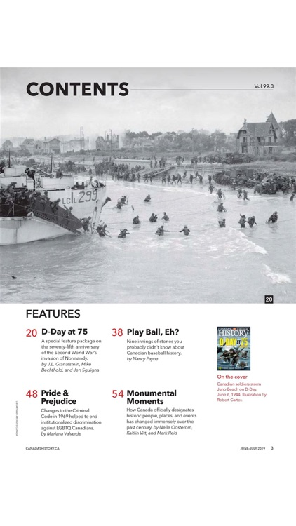 Canada's History Magazine screenshot-1