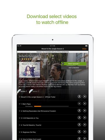 Screenshot of Amazon Prime Video
