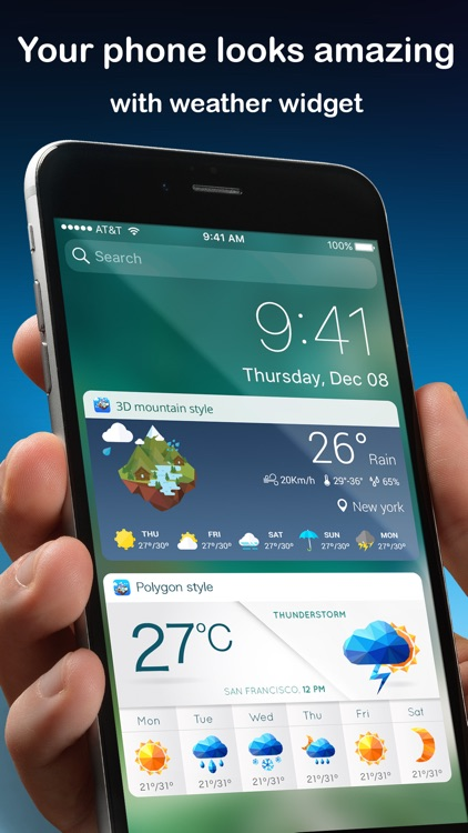 Weather Widget & Radar screenshot-0
