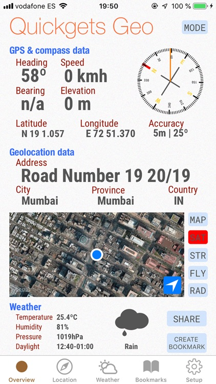 Quickgets Geo: geodata widgets screenshot-2