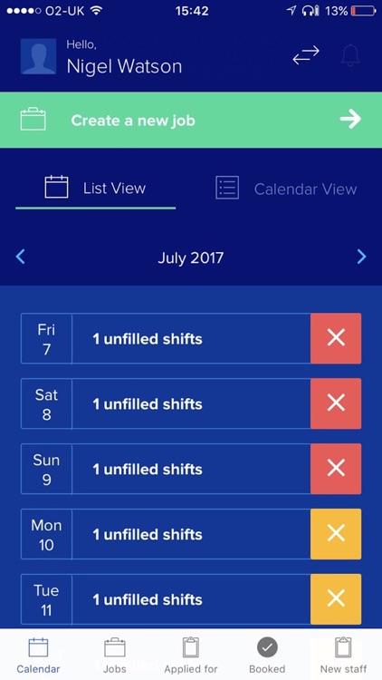 Shift Partner: Work Scheduling