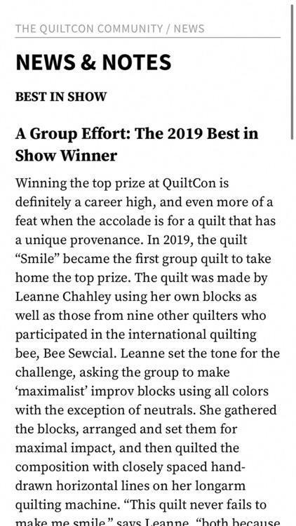 Quilting Arts Magazine screenshot-4