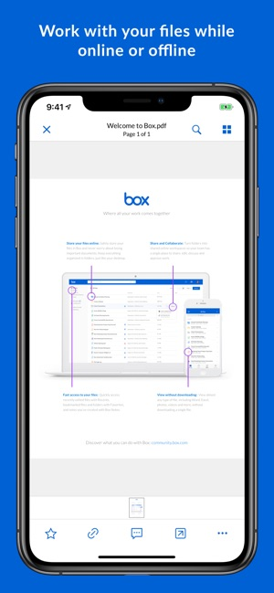 Box — Cloud Content Management Screenshot