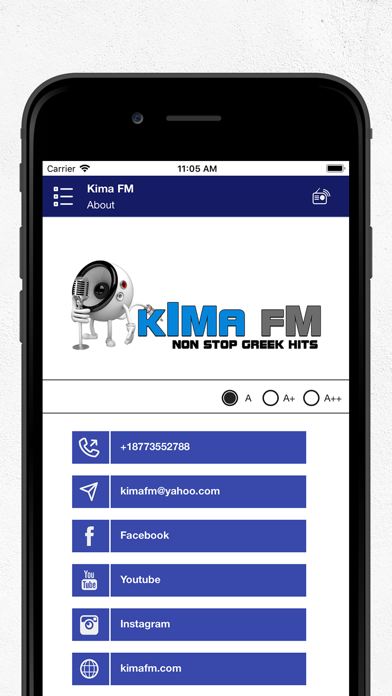 Kima FM screenshot four