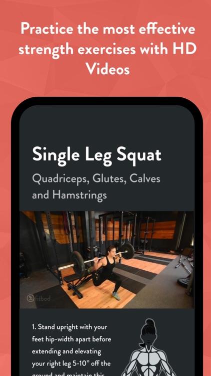 Fitbod Workout & Fitness Plans screenshot-3