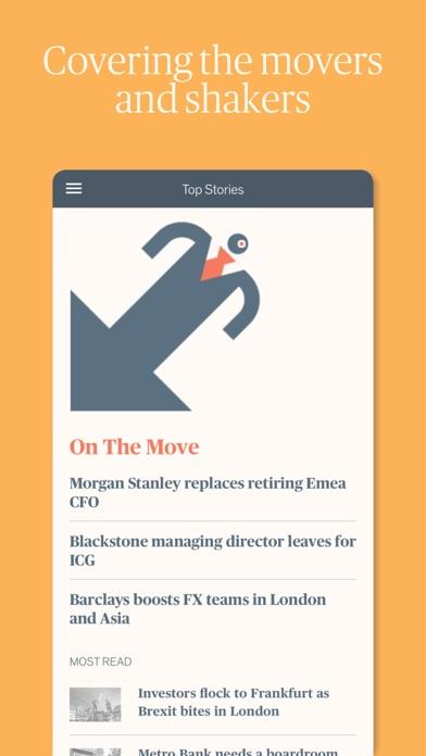 Financial News Screenshot