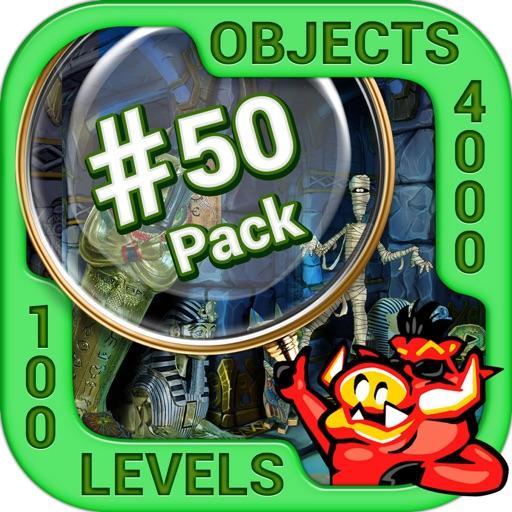 Pack 50 -10 in 1 Hidden Object