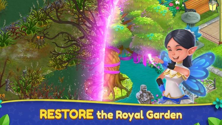 Royal Garden Tales - Match 3! screenshot-0
