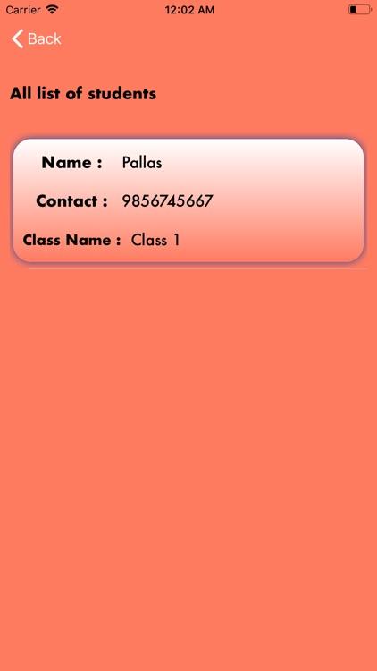 ClassData - Student Management screenshot-4