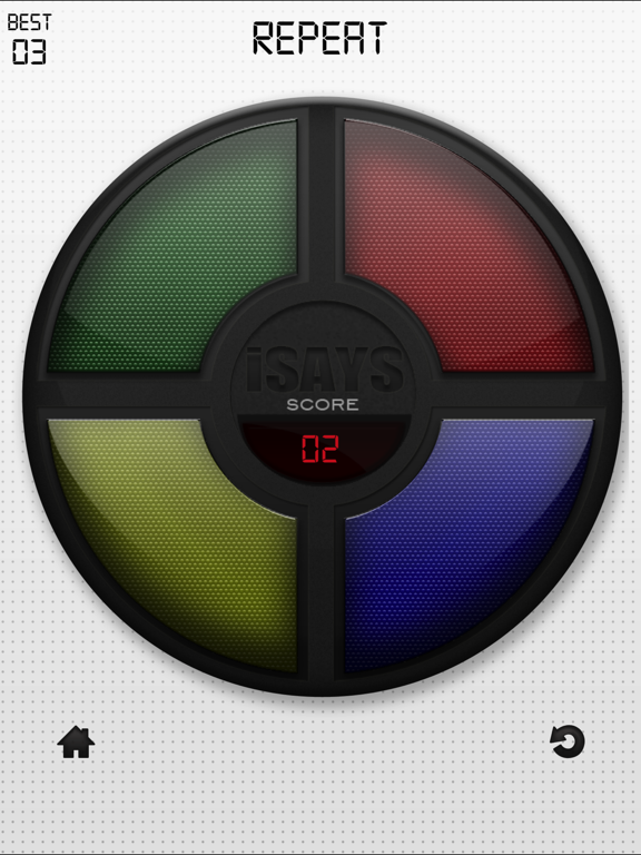 iSays Free - Simon Says Classic Color Switch Memory Game screenshot
