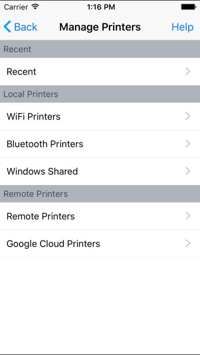 Скриншот №2 к PrinterShare