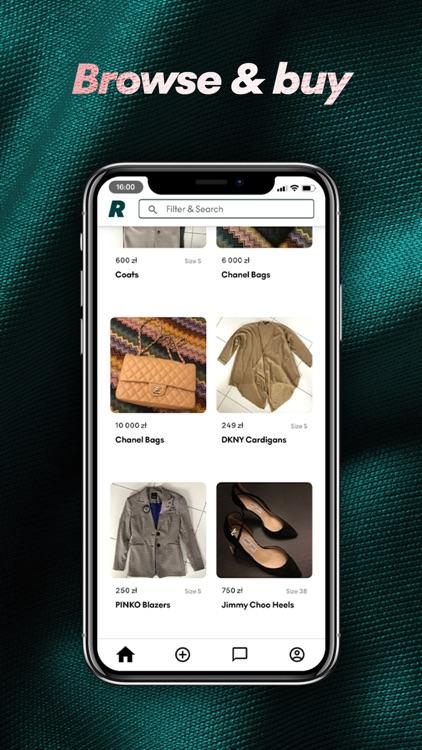 Ree: buy&sell preloved fashion