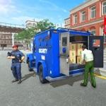 Bank Cash Transit Driving