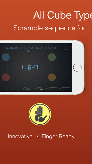 Cutimer: Magic Cube Timer screenshot 3
