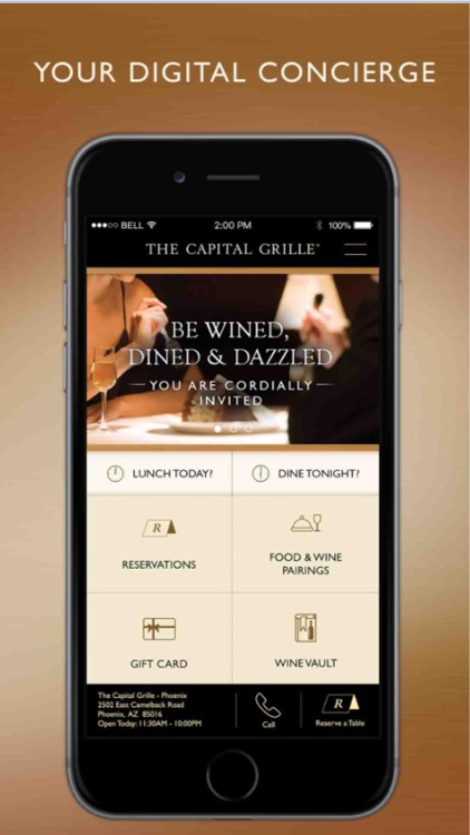 The Capital Grille Concierge screenshot-0