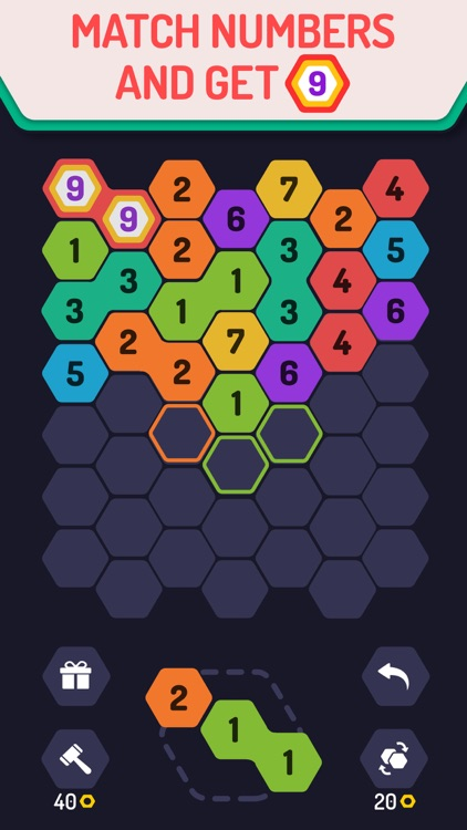 UP 9 - Hexa Puzzle! screenshot-0