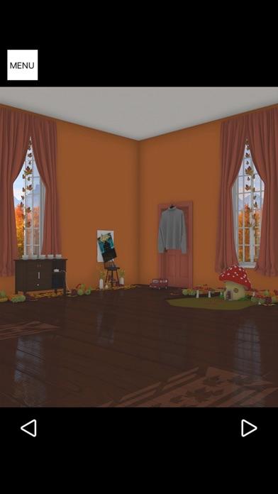 脱出ゲーム Autumn 紅葉とキノコとリスの家のおすすめ画像4