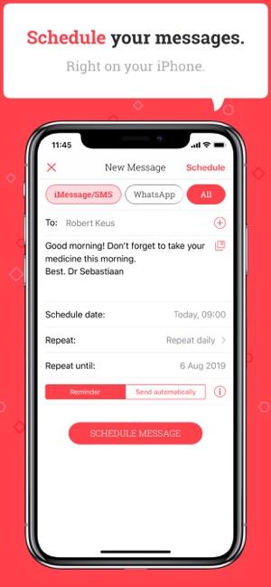 Scheduled Screenshot