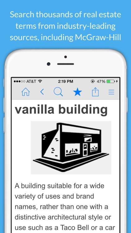 Real Estate Dictionary screenshot-0